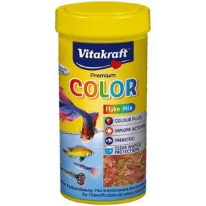FLOCONS - MASH - MUESLI VITAKRAFT Aliment colorant - Pour poisson coloré -
