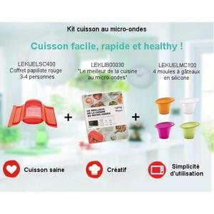 PIÈCE DE PETITE CUISSON Pack Kit Cuisson facile, rapide et healthy - Coffr