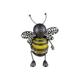 LAMPE DE JARDIN  Globo Lighting Lampe solaire abeille - Métal noir