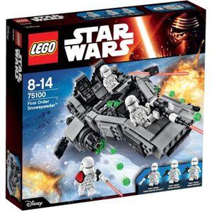 ASSEMBLAGE CONSTRUCTION LEGO® Star Wars 75100 First Order Snowspeeder™