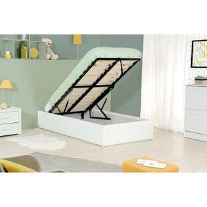 lit une place et demi achat vente lit une place et demi pas cher cdiscount. Black Bedroom Furniture Sets. Home Design Ideas