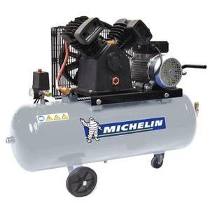 COMPRESSEUR AUTO MICHELIN Compresseur avec Cuve 100 Litres 3 cv - 1