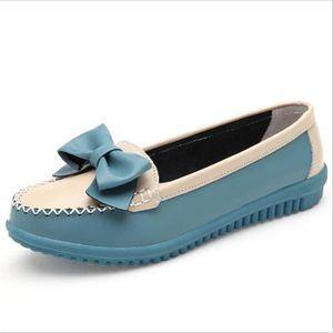 Mocassin Femmes Printemps Ete Mode Durable Plat Chaussure BJ-XZ086Jaune39 k0pMN6EoxR