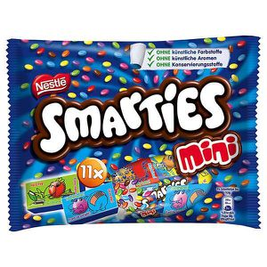 CONFISERIE DE CHOCOLAT Nestle Smarties Mini 5 x 158g