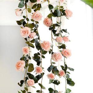 FLEUR ARTIFICIELLE TEMPSA 1.8 M Guirlande vigne fleur artificielle ro
