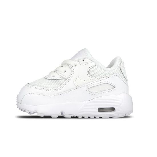 taille 40 9710f 119ef NIKE Baskets Air MAx 90 Mesh TD Chaussures Bébé Fille Blanc ...