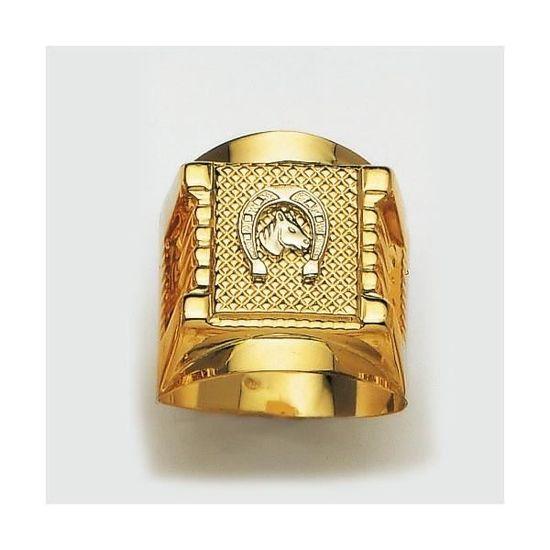 Bague homme en or 18 carats