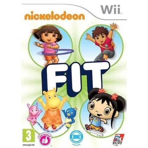 JEUX WII NICKELODEON FIT / Jeu console Wii
