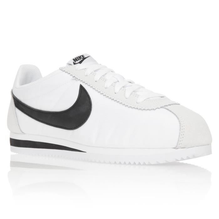 new photos 1c558 464f6 BASKET NIKE Baskets Classic Cortez Nylon Chaussures Homme