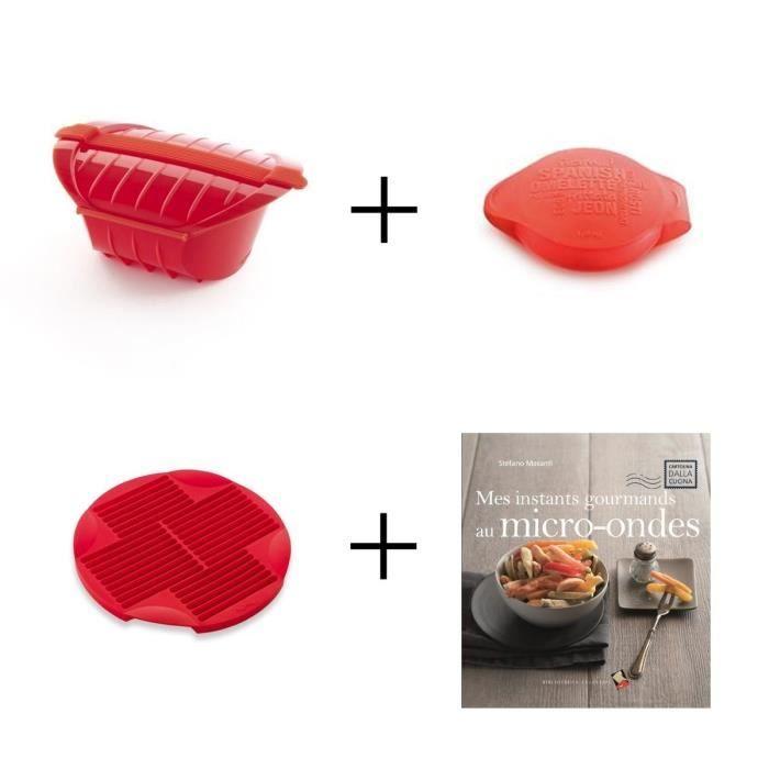 Pack Convivialité: Cocotte XL + Omelette maker + Moule à stick + Livre de recettes
