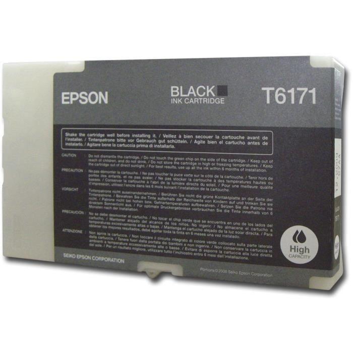 EPSON Pack de 1 Cartouche T6171 - Noir - Haute capacité 100ml
