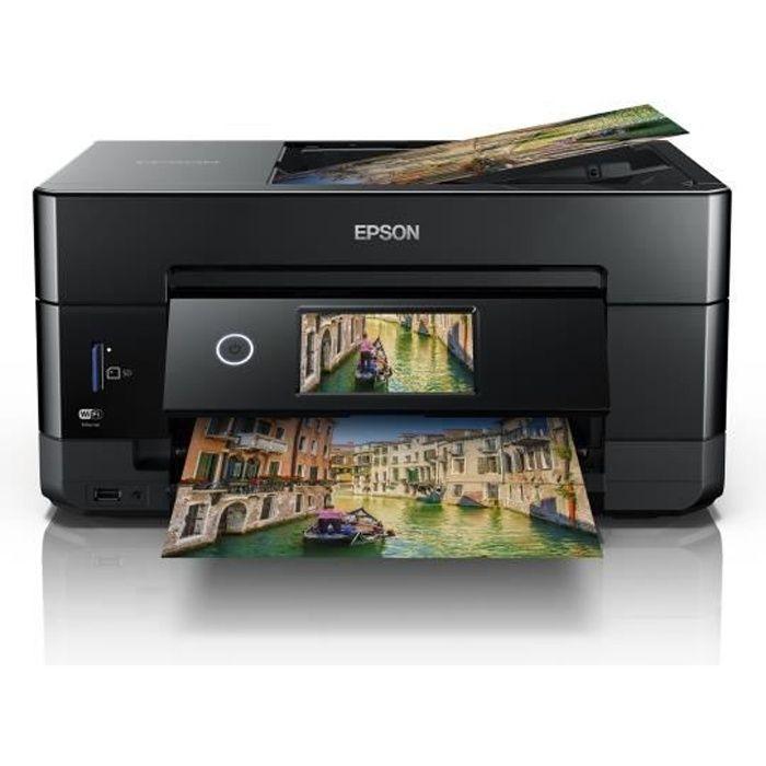 EPSON Imprimante XP-7100 - 3 en 1 + chargeur documents- Photo - Recto-verso automatique - WIFI- direct - Ecran tactile