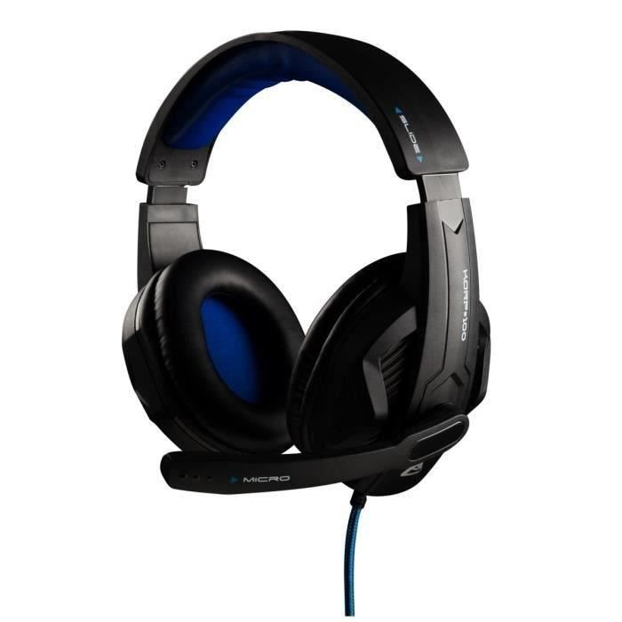 THE G-LAB Micro-Casque Gamer KORP#100 Filaire - PC/MAC/PS4/XBox One/Mobile