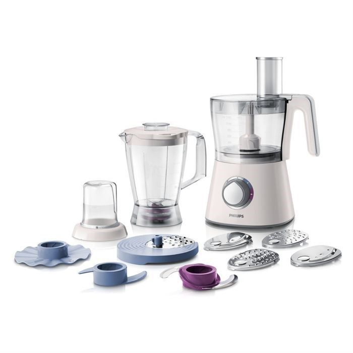 PHILIPS HR7761/00 Robot multifonction Viva Collection - Blanc