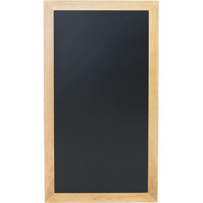 Ardoise longue à fixer, 100 x 56 cm Teck
