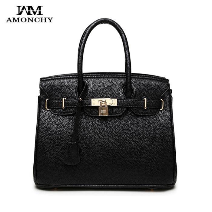 sac à main 2016 Nouveau Femmes Famous Brand Platinum serrure Sac Fashion Designer Femmes en cuir de haute qualité Lady Totes-988