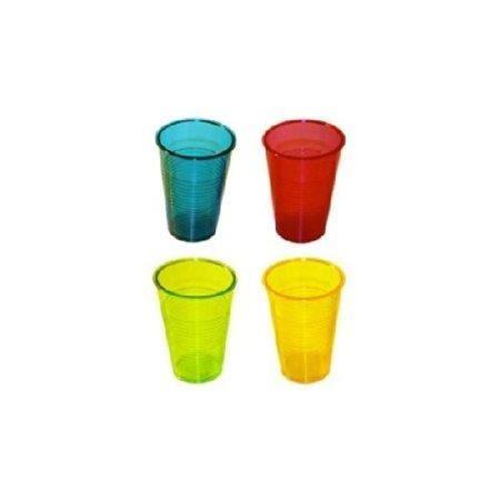 verre plastique rigide acidul jaune vert bleu ros achat vente verre eau soda cdiscount. Black Bedroom Furniture Sets. Home Design Ideas
