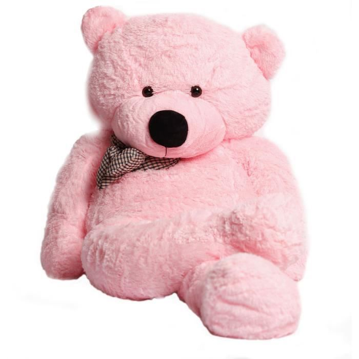 30d4653bb33a Ours en peluche rose - Achat   Vente jeux et jouets pas chers