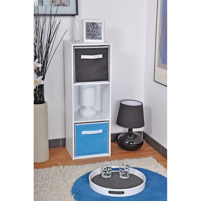 meuble de rangement 3 cases moli achat vente petit meuble rangement meuble rangement 3. Black Bedroom Furniture Sets. Home Design Ideas