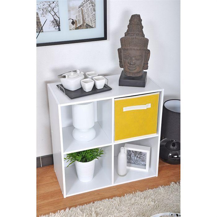 meuble de rangement 4 cases moli achat vente petit meuble rangement meuble rangement 4. Black Bedroom Furniture Sets. Home Design Ideas