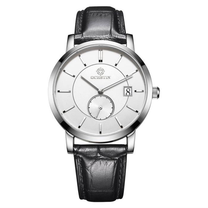 57d693f46fd6a OCHSTIN montre de mode de luxe de luxe hommes bracelet en cuir ...