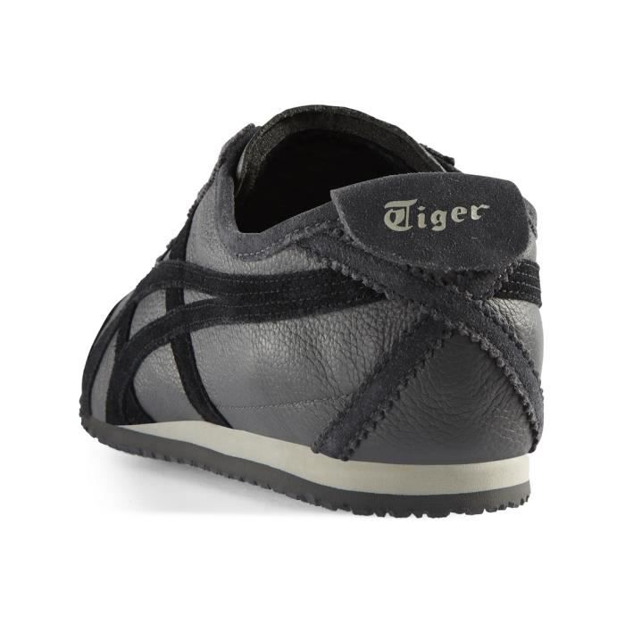 Onitsuka tiger mexico 66 noir gris chaussures baskets mode