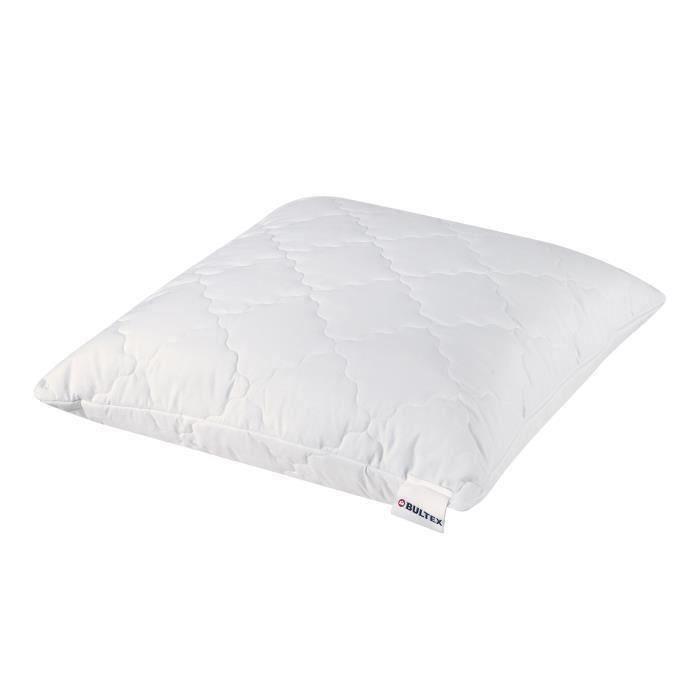 bultex oreiller 39 sp cial cervicales 39 d houssable 60x60 cm blanc ebay. Black Bedroom Furniture Sets. Home Design Ideas