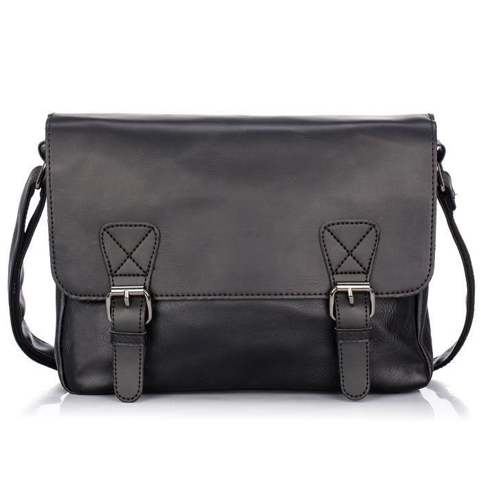 Retro Leather Messenger Crossbody Shoulder Bag Small Satchels For Women DQQBQ