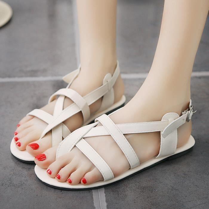 Femmes sandales de haute qualité chaussures fem...