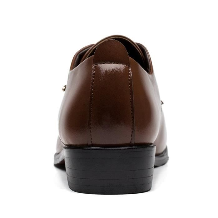 Robe Tuxedo Chaussures Mode Oxford LW1YI Taille-46