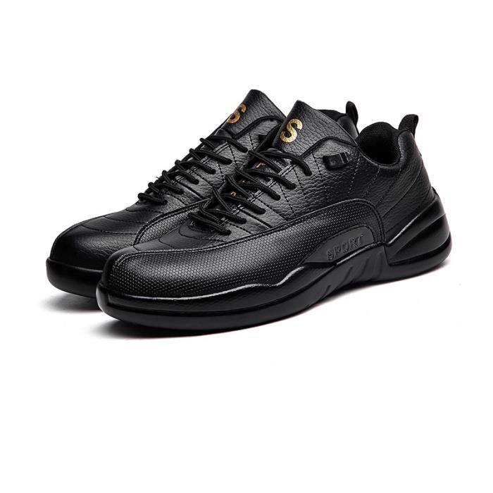 et Jogging hiver Homme Chaussures léger Chaussure XZ221Noir39 été Respirant BWYS Sport Baskets dCXnwqztqx