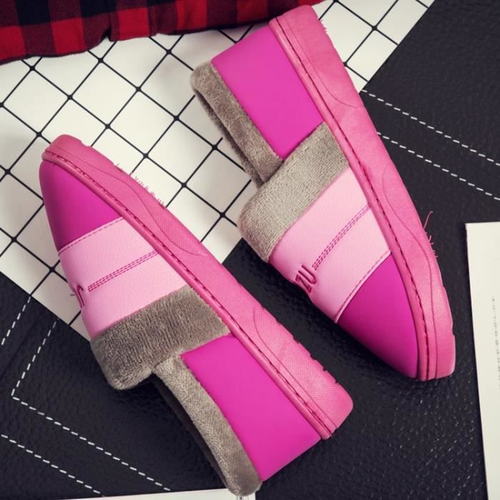 Bottes en coton Hiver Hommes Femmes Sports Chaussures Casual Coton