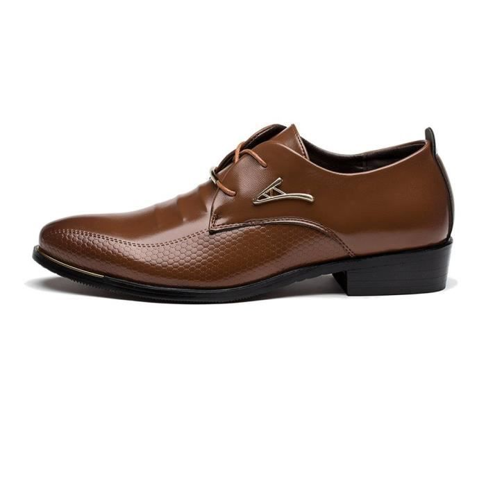 Robe Tuxedo Chaussures Mode Oxford LW1YI Taille-46 9Uksu