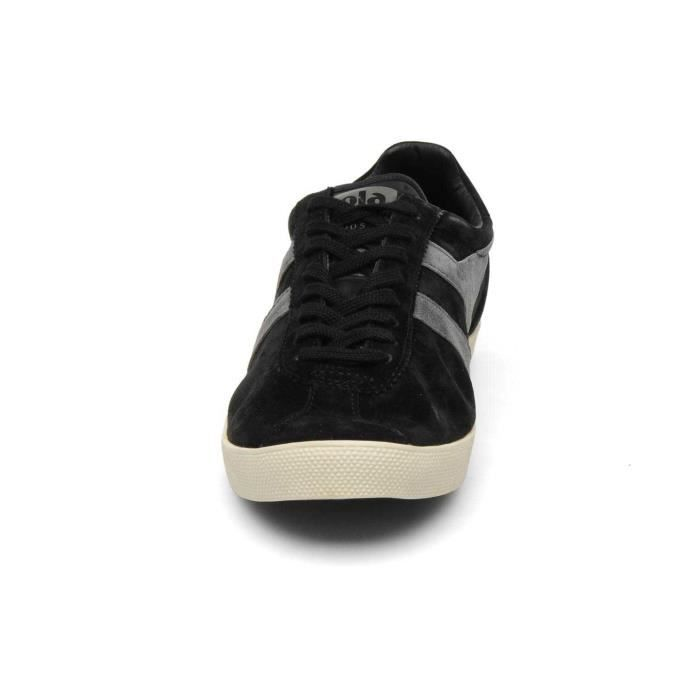 Chaussure Baskets basses Gola Trainer Suede Black Anthracite Homme Pointure 42