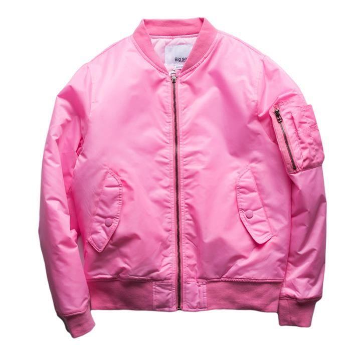 Vin Bomber Rouge Bombers bleu Automne blanc Blouson Marque Femme rose Ma1 qYZS4x