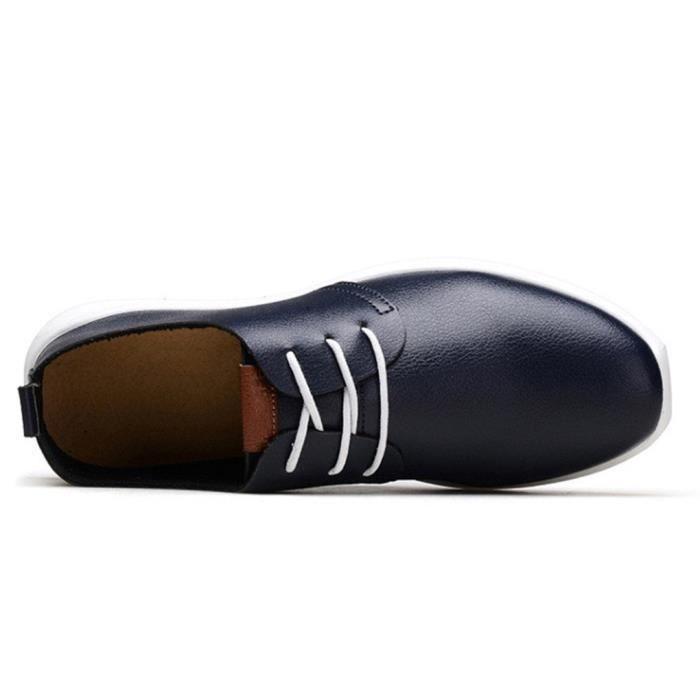 Oxfords Chaussures en cuir souple T6S3U Taille-41
