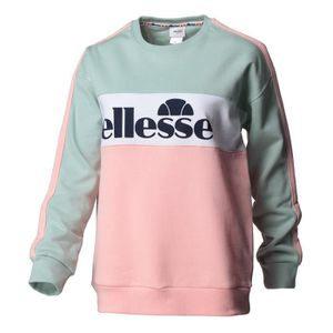 SWEAT-SHIRT DE SPORT ELLESSE Sweatshirt Ginny - Femme - Vert et rose