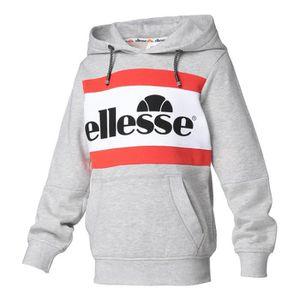 premier coup d'oeil belle couleur Bons prix ELLESSE Sweatshirt à capuche Gabin - Enfant - Gris chiné ...