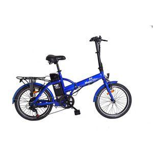 VÉLO ASSISTANCE ÉLEC MOOVWAY Vélo Electrique Pliable Urban City Mixte