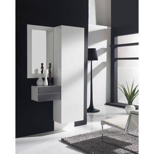 Armoire d entree avec miroir achat vente armoire d - Miroir d entree ...