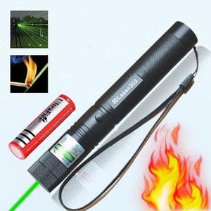 POINTEUR 532mm haute puissance 303 pointeur Laser vert et b