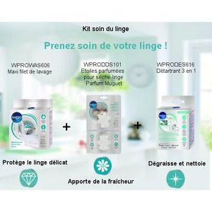 PIÈCE LAVAGE-SÉCHAGE  Pack Kit Soin du linge - Maxi filet de lavage + Dé