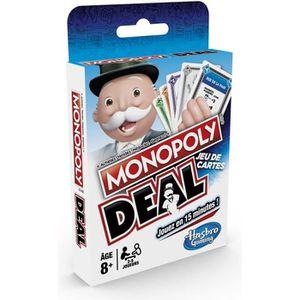 JEU SOCIÉTÉ - PLATEAU Monopoly Deal - Jeu de société de Voyage - Jeu de
