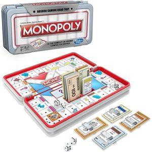 JEU SOCIÉTÉ - PLATEAU HASBRO GAMING - Monopoly - Jeu de voyage