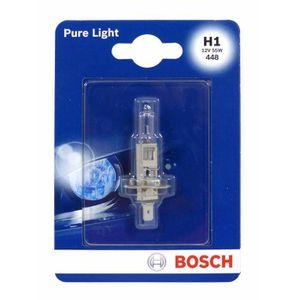 AMPOULE TABLEAU BORD BOSCH Ampoule Pure Light 1 H1 12V 55W