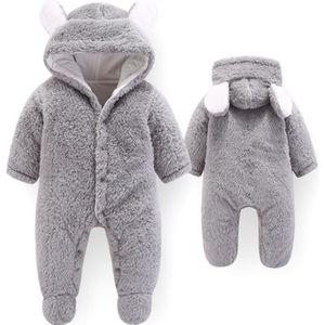 59a4819752089 MANTEAU - CABAN Manteau d hiver pour bébé Pyjama en peluche Gris V ...