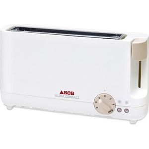 GRILLE-PAIN - TOASTER SEB TL210101 Grille-pain Ultra Compact - Blanc