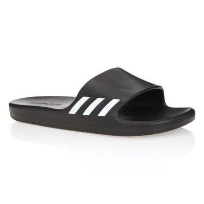 Femme Noir Adidas Blanc Sandales Et Piscine Aqualette De qHqfZ1w