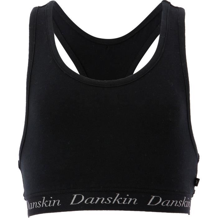 DANSKIN Brassière de danse Rosaline - Enfant fille - Noir