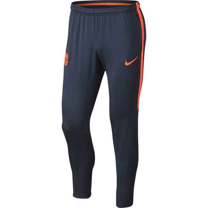 new concept 810f2 99f23 NIKE Pantalon de survêtement FC Barcelone Squad 2017 2018 - Homme - Bleu